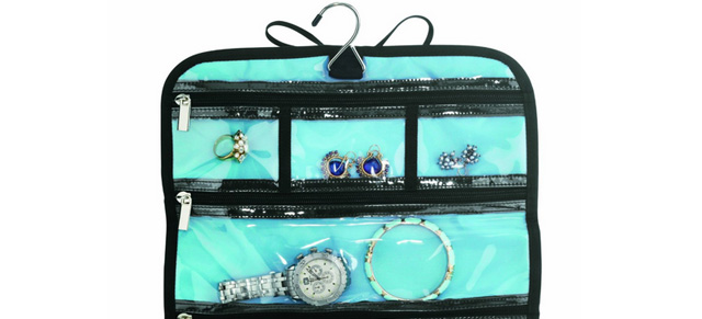 Conair Jewelry Roll Bag