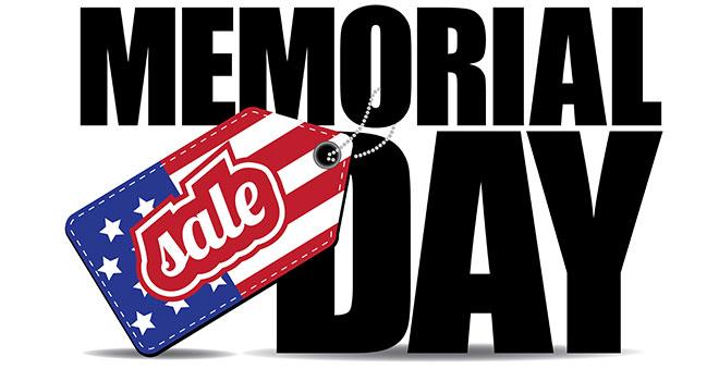 Memorial Day Sales 2015