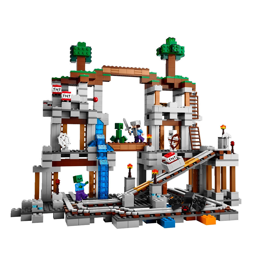 Lego-Minecraft-Mine