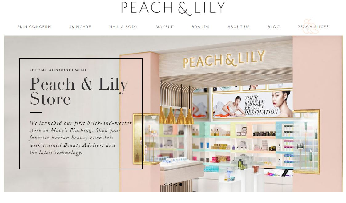 peach and lily